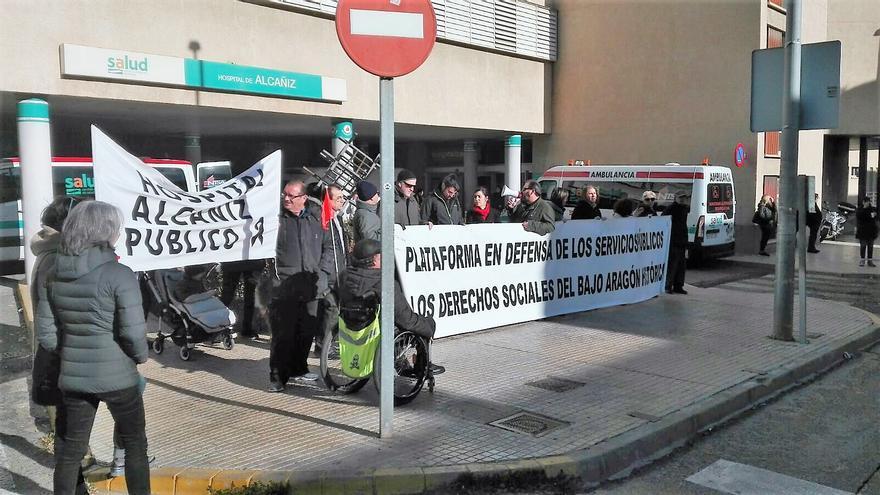 Plataforma en Defensa de los Servicios Públicos en el Bajo Aragón