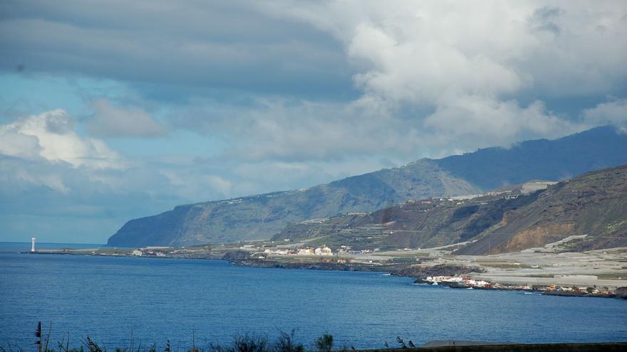 Nublado en la zona oeste de La Palma