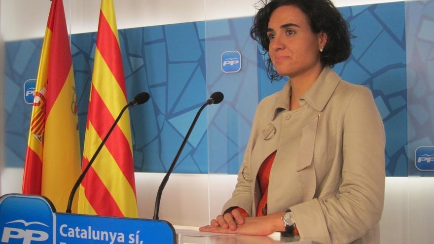 """Montserrat (PP) responde a Álvarez de Toledo: """"Quienes tenemos legitimidad para hablar somos los catalanes"""""""