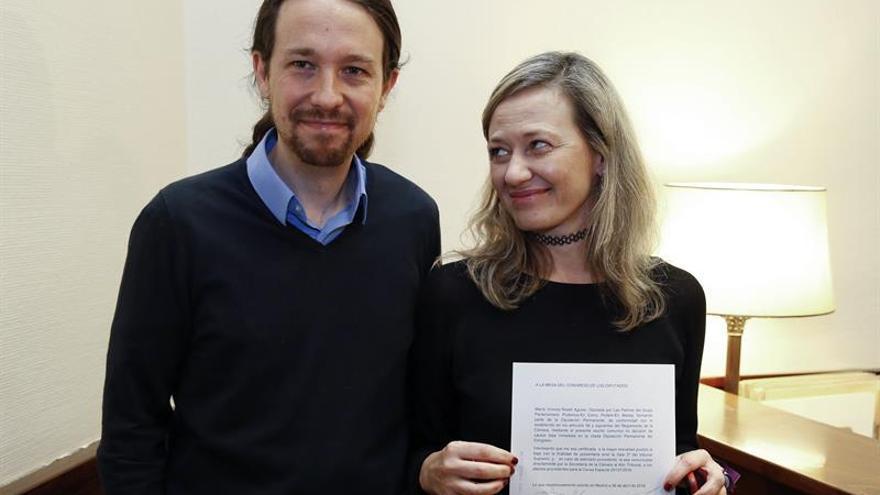 Pablo Iglesias: Espero volver a contar pronto con Victoria Rosell
