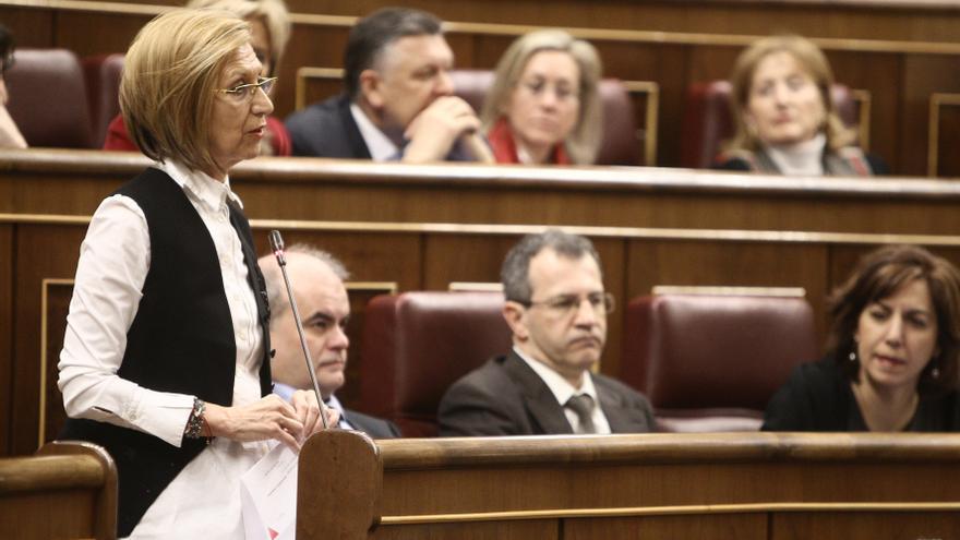 """Rosa Díez emplaza al Gobierno a ilegalizar Amaiur porque la huelga de hambre del portavoz es prueba """"suficiente"""""""