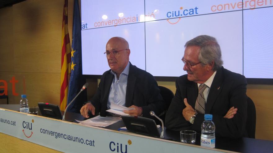 CiU ve con escepticismo la negociación del pacto fiscal y Duran no descarta anticipar elecciones