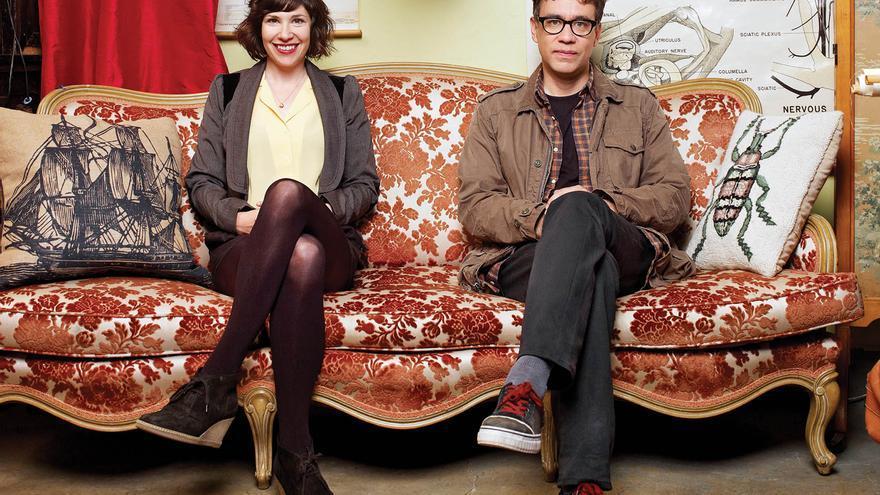 Carrie Brownstein y Fred Armisen en 'Portlandia'