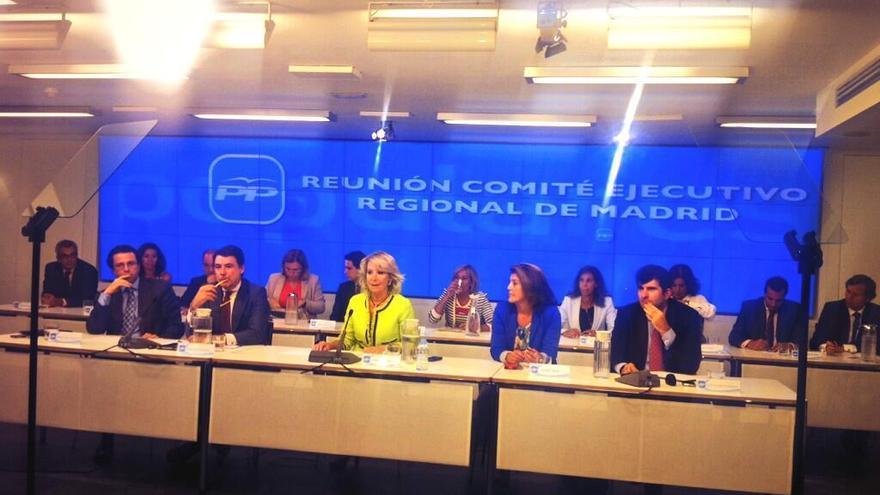 Reunión del Comité Ejecutivo Regional de Madrid, el 30 de septiembre de 2013. / @ppmadrid
