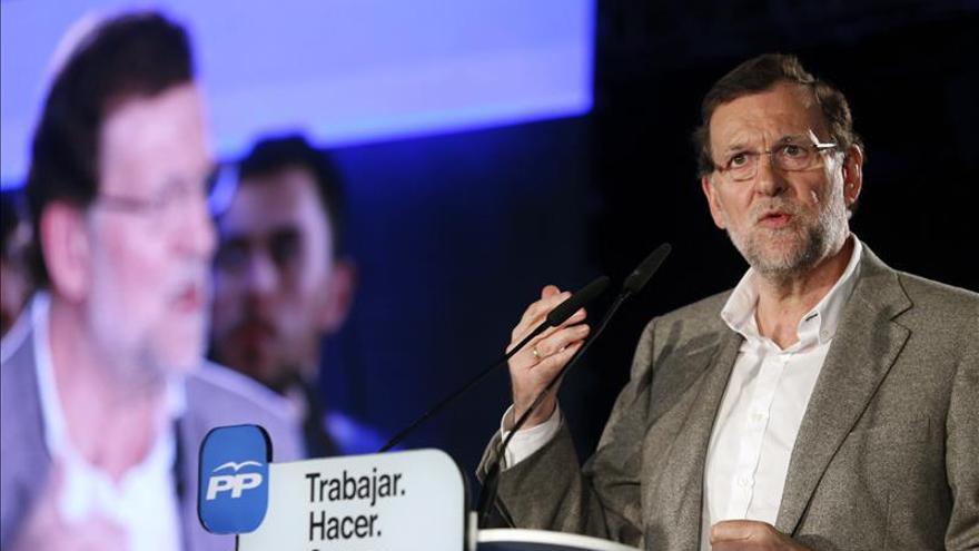 Rajoy inicia hoy en Toledo un periplo electoral por toda España ante el 24M