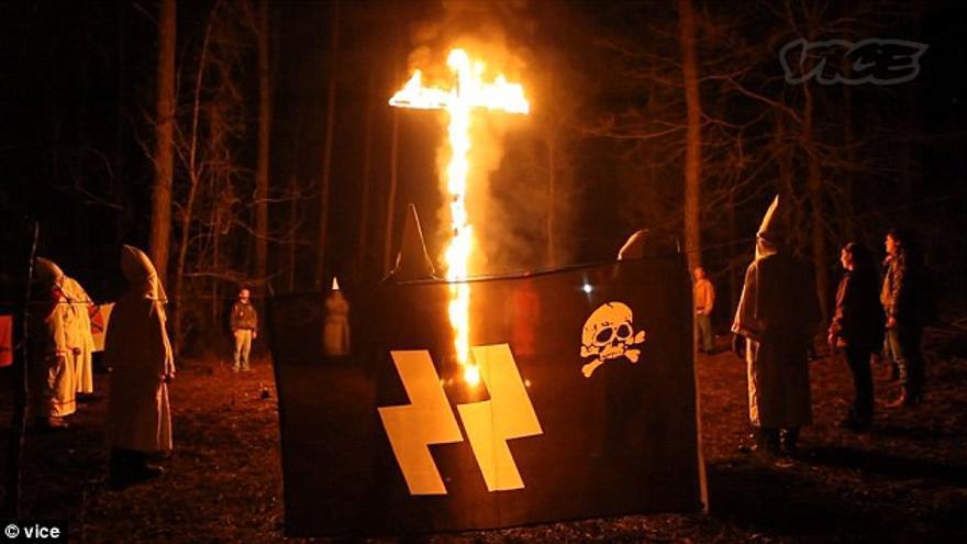 El Ku Klux Klan sigue vivo. / Vice.