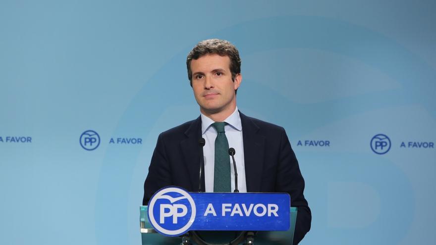"""Casado recalca que Rajoy no quiso decir """"en ningún caso"""" que habrá elecciones anticipadas"""