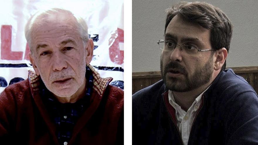 Carmelo Suárez y Ástor García