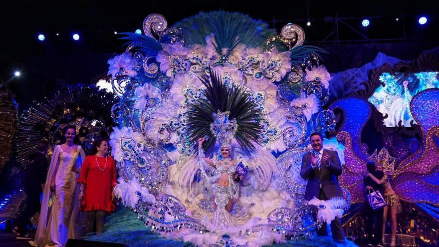 Inma Afonso Darias, reina del Carnaval aronense
