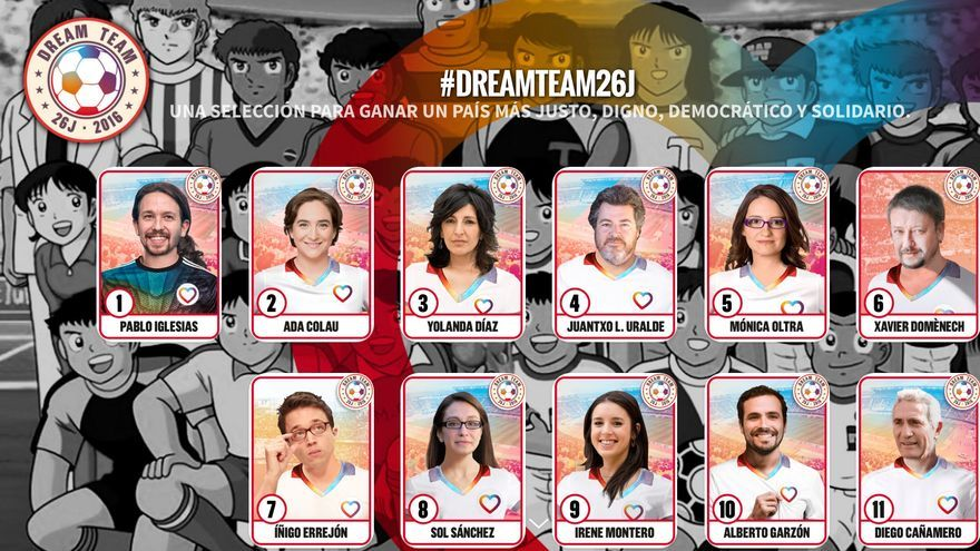 Colección de cromos de dreamteam26j.com.