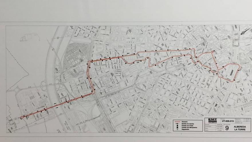Así quedará la línea 9 tras la remodelación