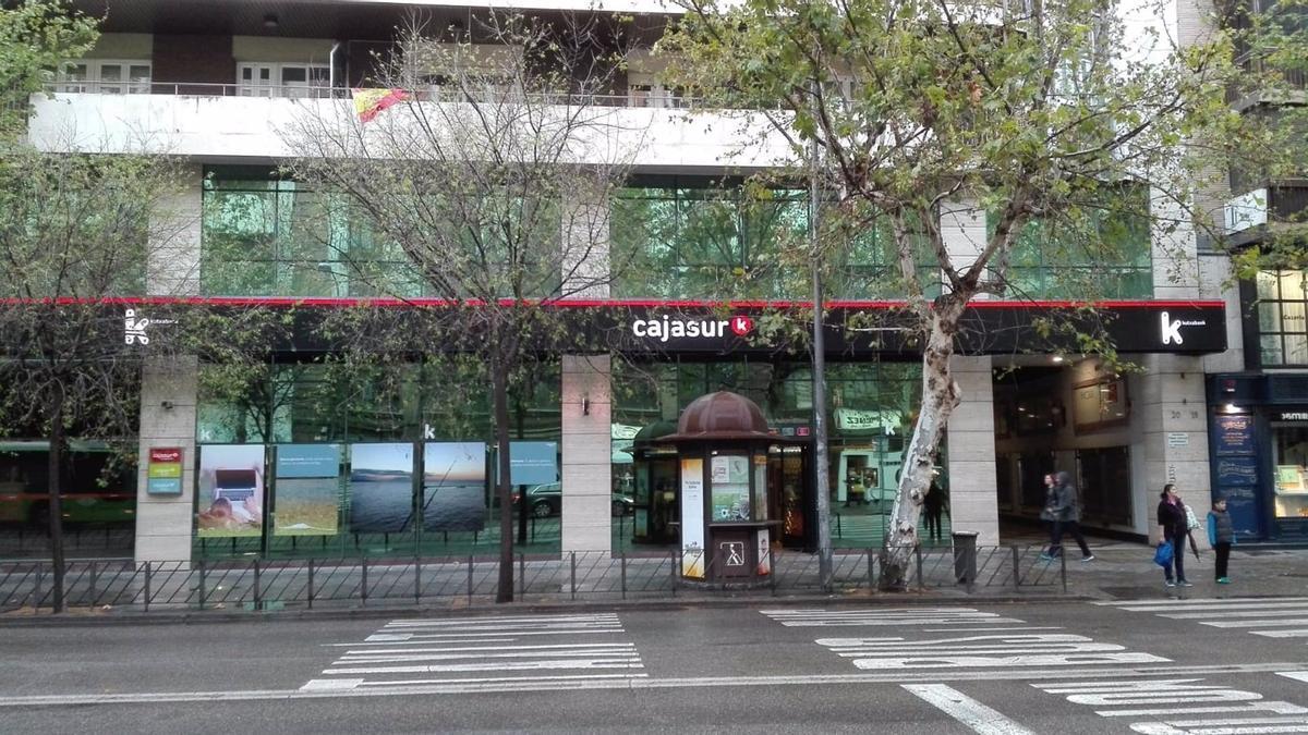 Sede central de Cajasur en Córdoba, en una imagen de archivo.