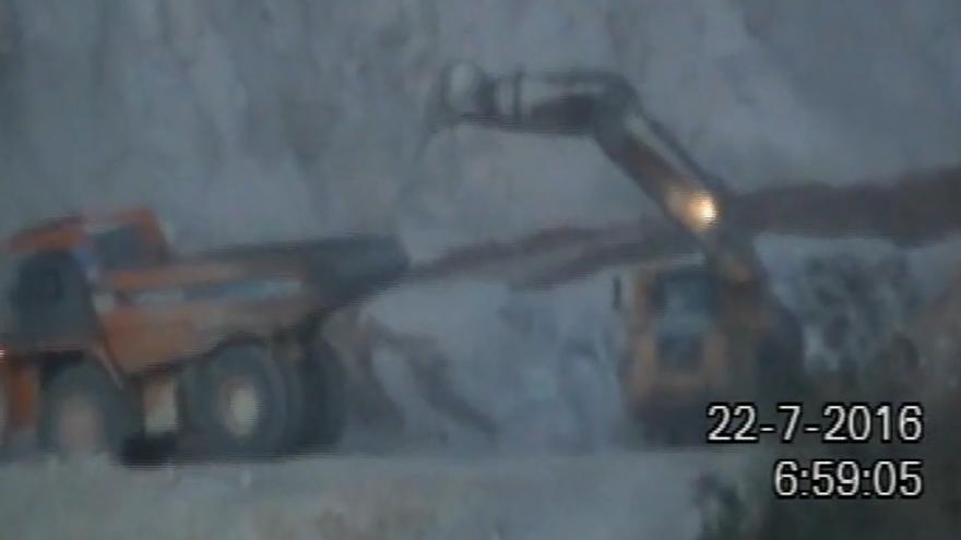 Captura del vídeo recibido por la PDSS