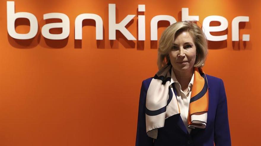 La consejera delegada de Bankinter ganó 1,3 millones en 2017, un 6 % más