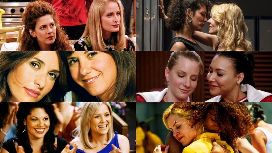 Ejemplos de series que visibilizaron relaciones entre mujeres