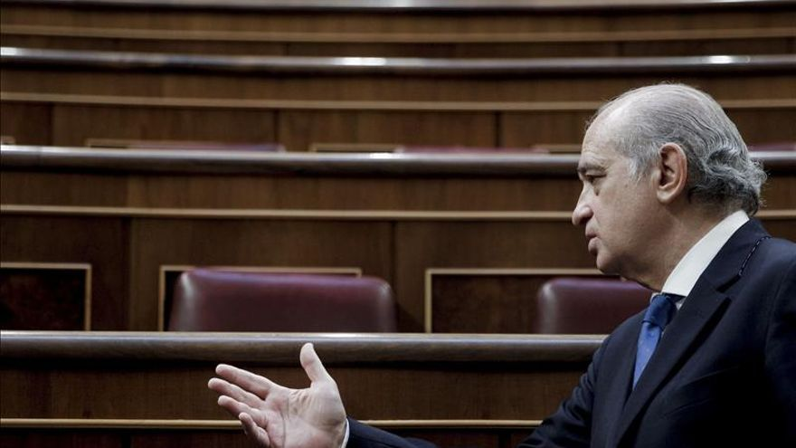 El ministro del Interior, Jorge Fernández Díaz. / EFE.