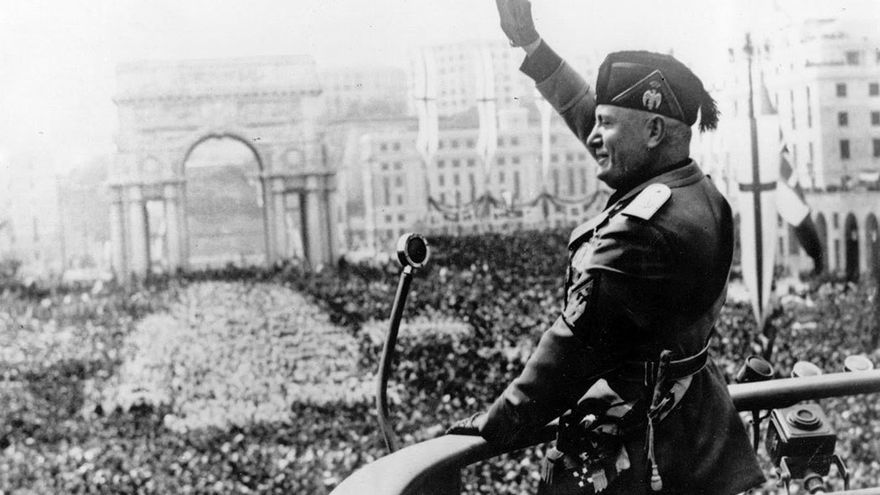 Los antiguos ideales fascistas y de ultraderecha están volviendo a ganar fuerza. (DP).