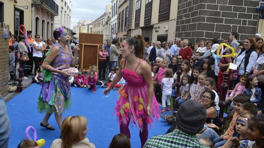 Actividades en el centro de la ciudad, en la edición pasada