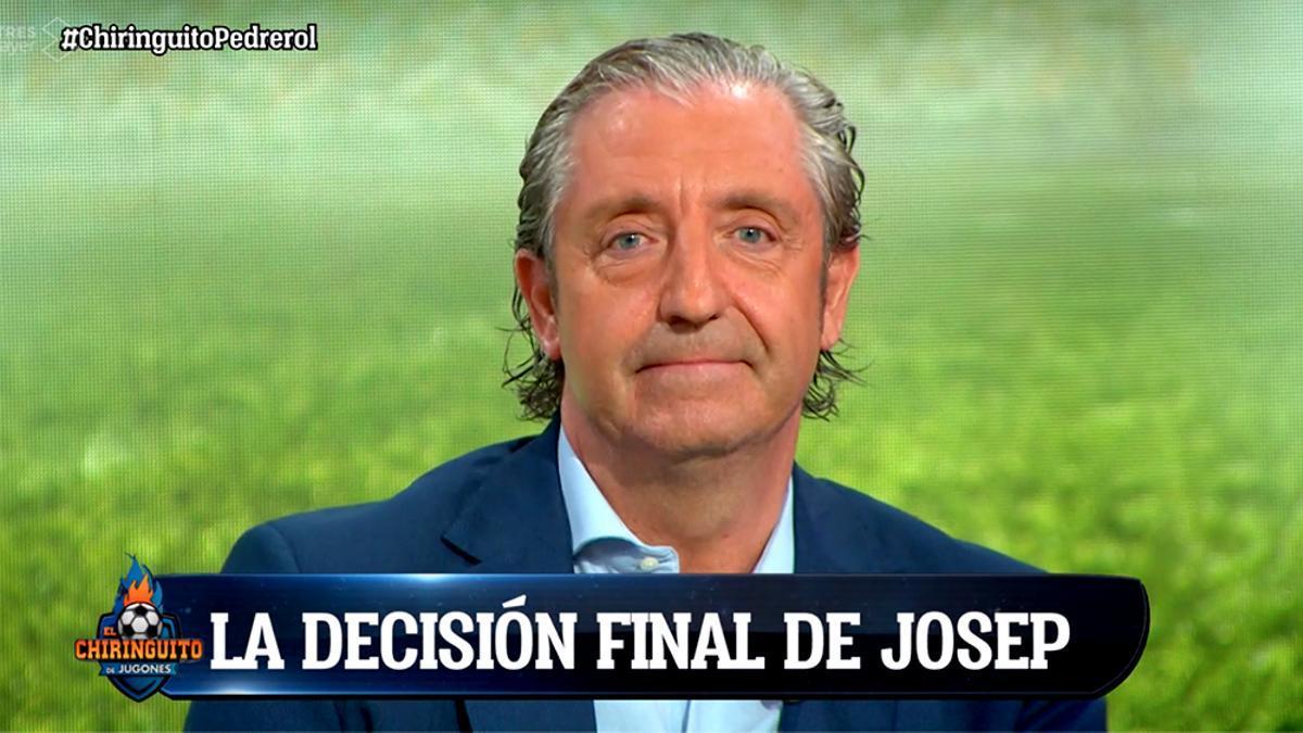 Josep Pedrerol comunica su decisión final en 'El Chiringuito'