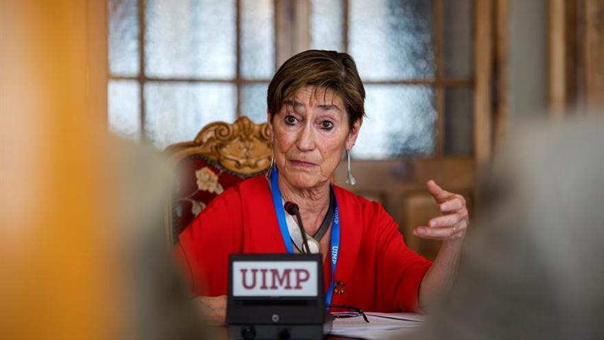 La presidenta del Consejo General de la Abogacía, Victoria Ortega.