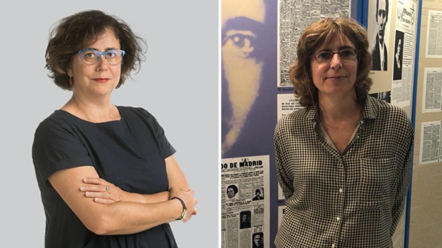 Patricia Faraldo y María Naredo.