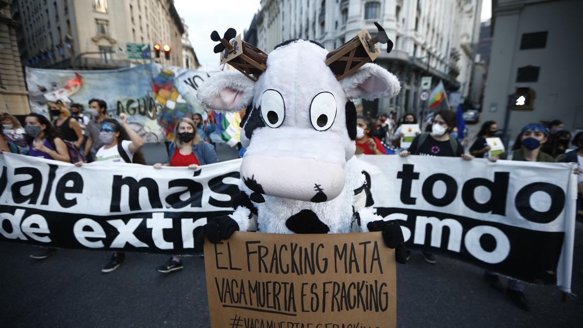 Marcha este lunes en Buenos Aires por el Día Mundial del Agua.