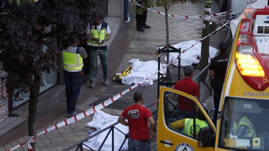 Las 3 víctimas murieron de forma violenta en el despacho de abogados de Madrid