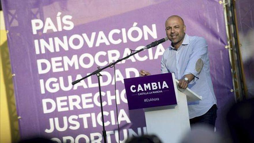 José García Molina, Podemos CLM