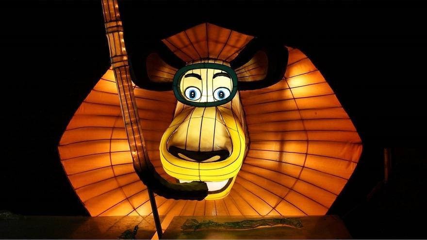 """""""Lights, un mundo iluminado by Dreamworks"""" trae al Euskalduna más de 140 figuras de Shrek, Madagascar y Kung Fu Panda"""