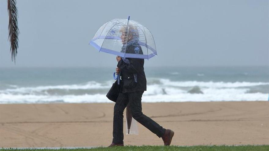 La lluvia caída en Alicante en solo 24 horas roza la mitad de un año entero