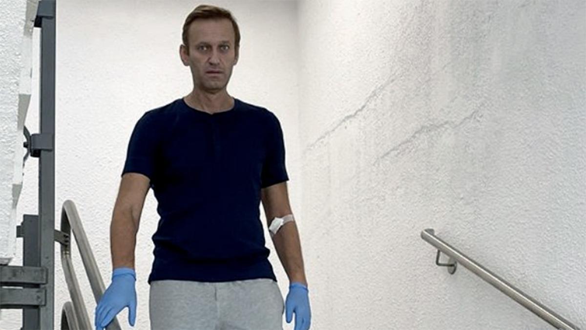 El opositor ruso Alexey Navalny recibió el alta médica en septiembre de 2020 tras pasar más de un mes internado en un hospital de Berlín por un envenenamiento que su entorno atribuye al Kremlin