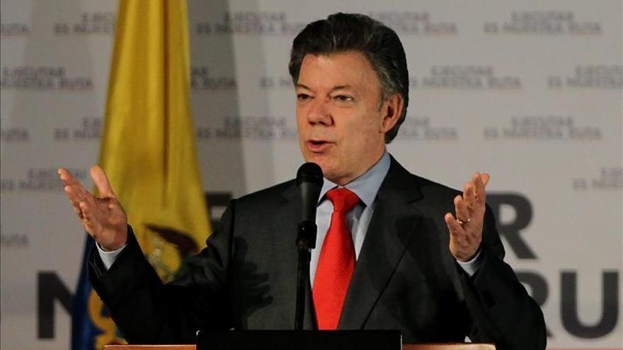 Santos espera que la economía colombiana crezca este año más del 3,5 por ciento