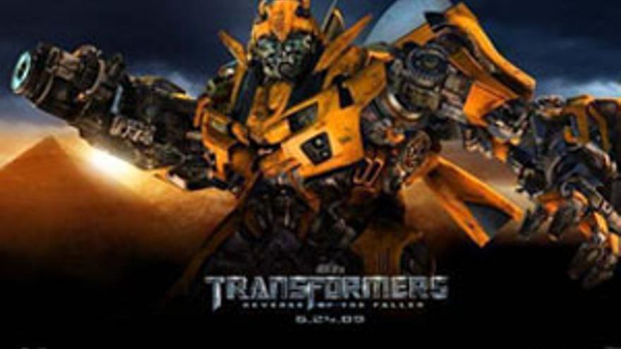 Cartel de la película Transformers.