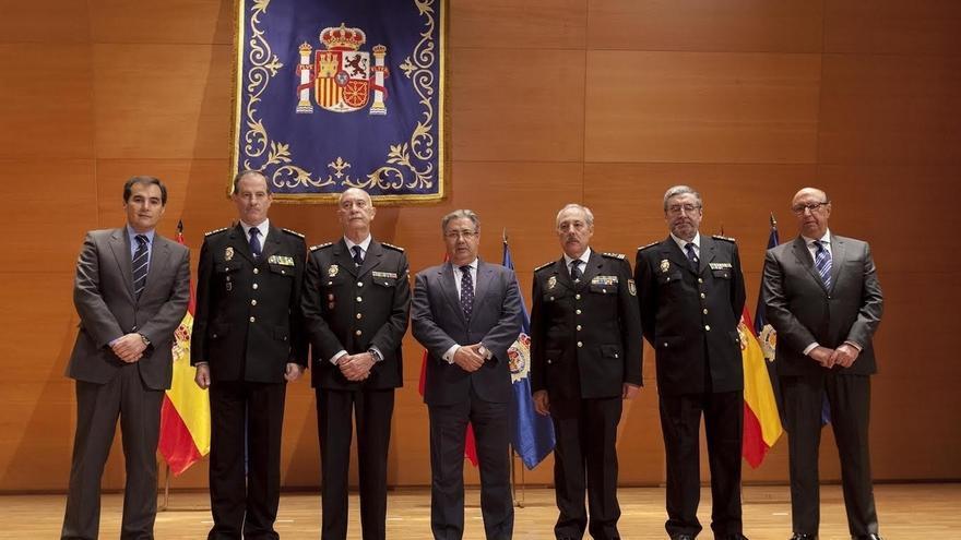 La nueva cúpula de la Policía llama a la unidad ante la situación en Cataluña y las peticiones de mejoras salariales