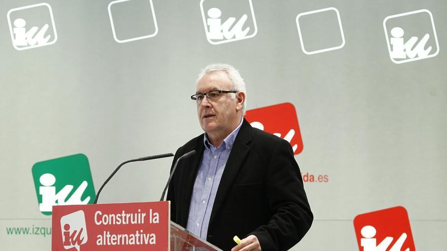 """IU, a favor de que el Gobierno dé """"pasos"""" para lograr que ETA anuncie su disolución definitiva"""
