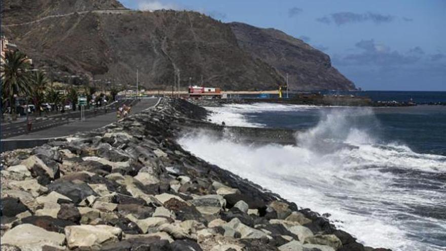 Avenida Marítima de San Andrés.