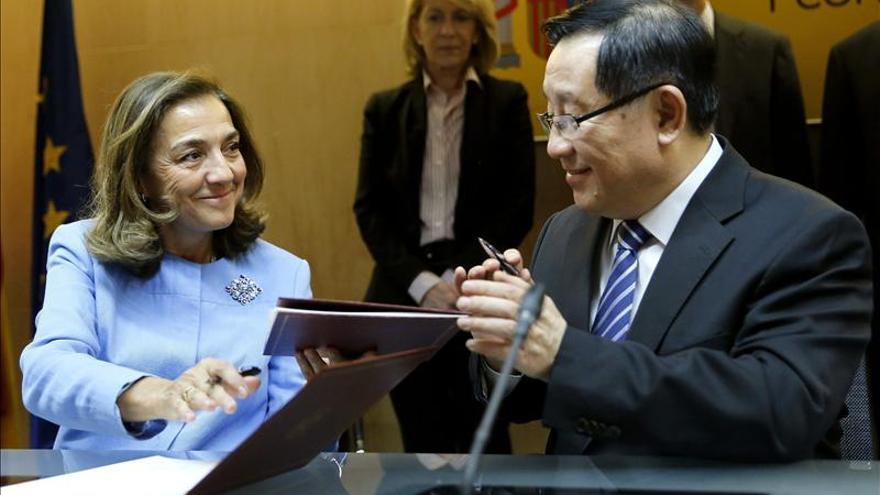 España y China firman un convenio de colaboración en ciencia y tecnología