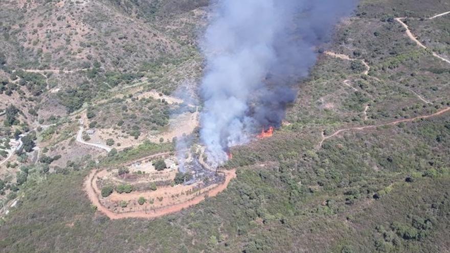 Pasa a disposición judicial el detenido por el incendio de Estepona