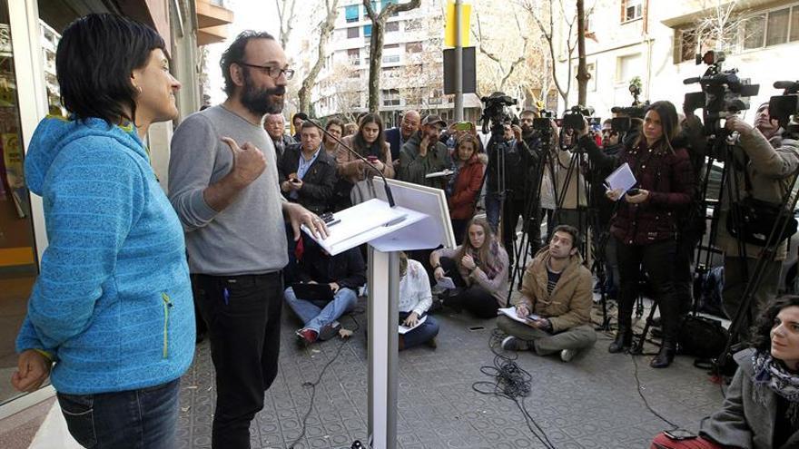 """La CUP pide """"determinación"""" al Govern para impulsar un """"referendo unilateral"""""""