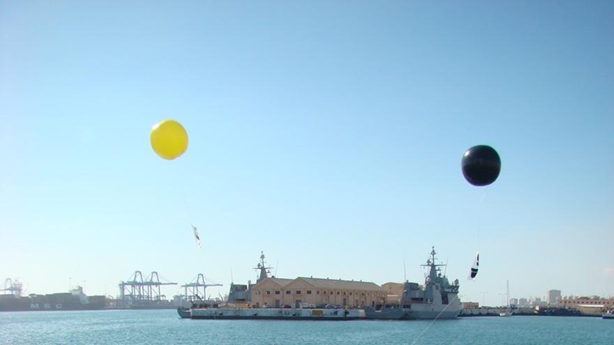 Acción antimilitarista en la Base Naval de Las Palmas de Gran Canaria 11 (Thalía Rodríguez)