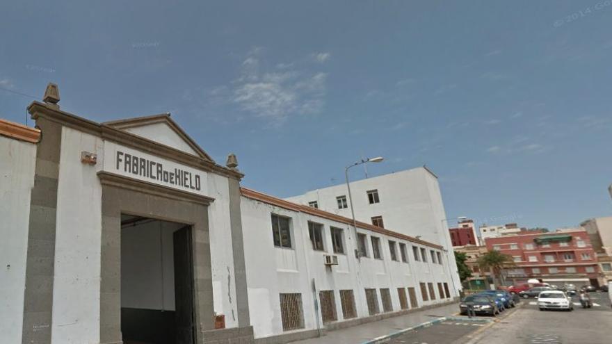 Antigua fábrica de hielo de Las Palmas de Gran Canaria.