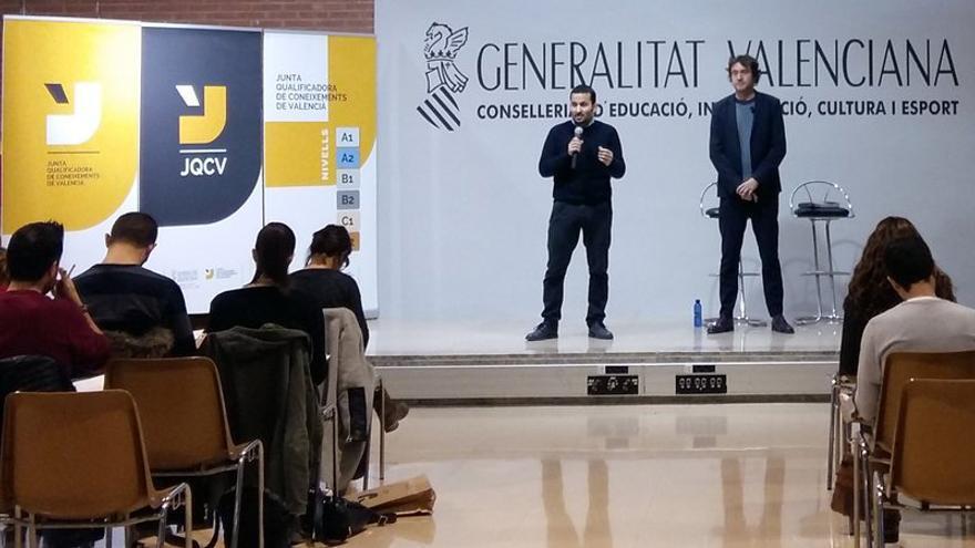 El conseller de Educación, Vicent Marzà, y el secretario autonómico Rubén Trenzano