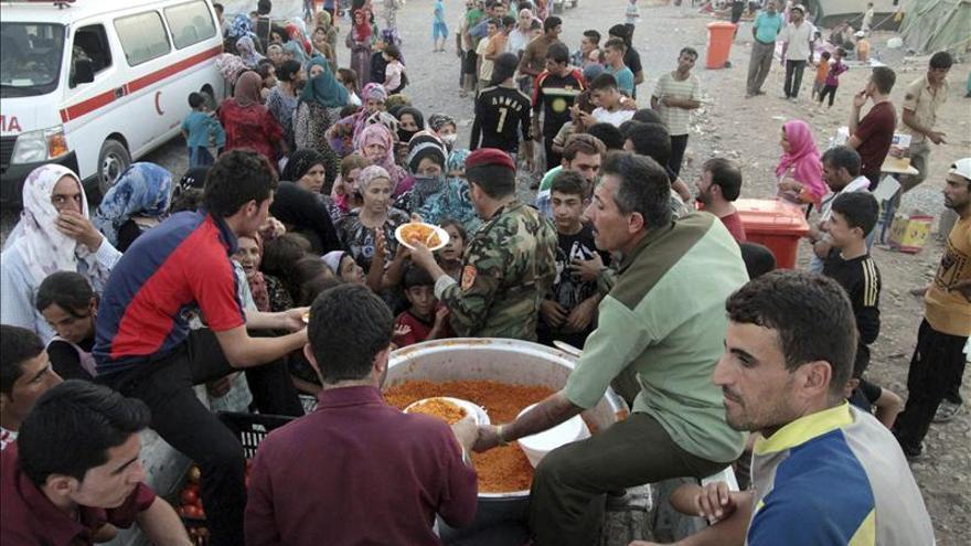 Yihadistas y kurdos se enfrentan en distintas zonas del norte de Siria