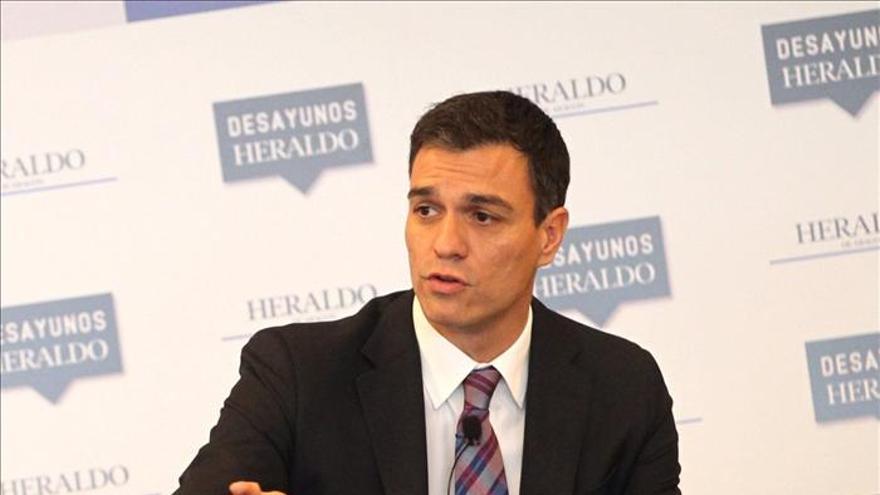Sánchez haría pactos puntuales con quienes se identifiquen con su programa