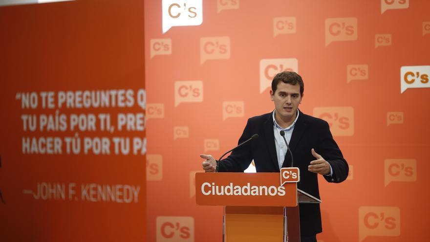 """Rivera reivindica el papel """"humilde pero importante"""" de Ciudadanos para forzar al Gobierno a cambiar sus políticas"""
