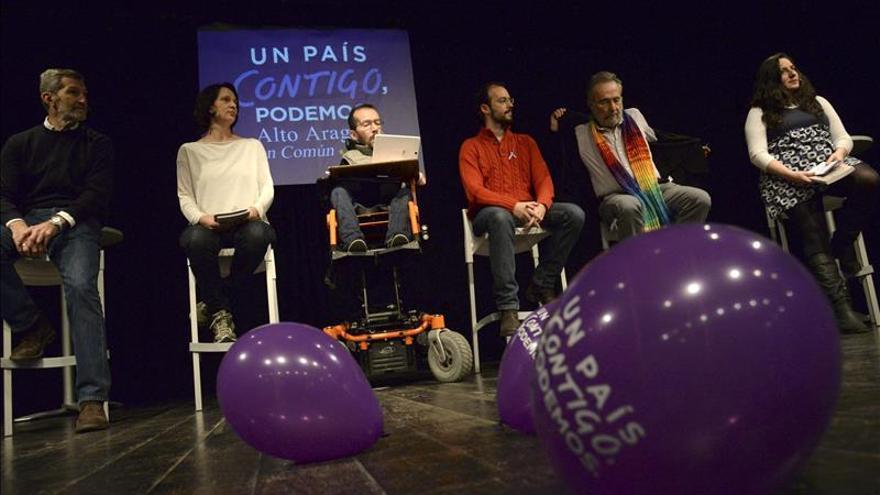"""Echenique: Podemos ofrece """"garantías"""" y el resto """"sólo propuestas"""""""