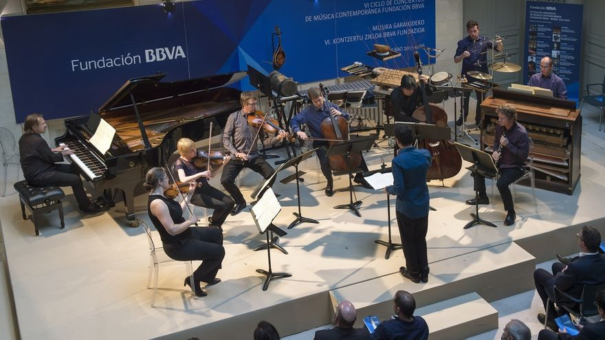El VIII Ciclo de Música Contemporánea de la Fundación BBVA en Bilbao ofrece el martes el concierto de Koan 2