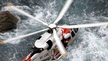 Imagen del Helimer, el helicóptero de emergencias de Salvamento Marítimo