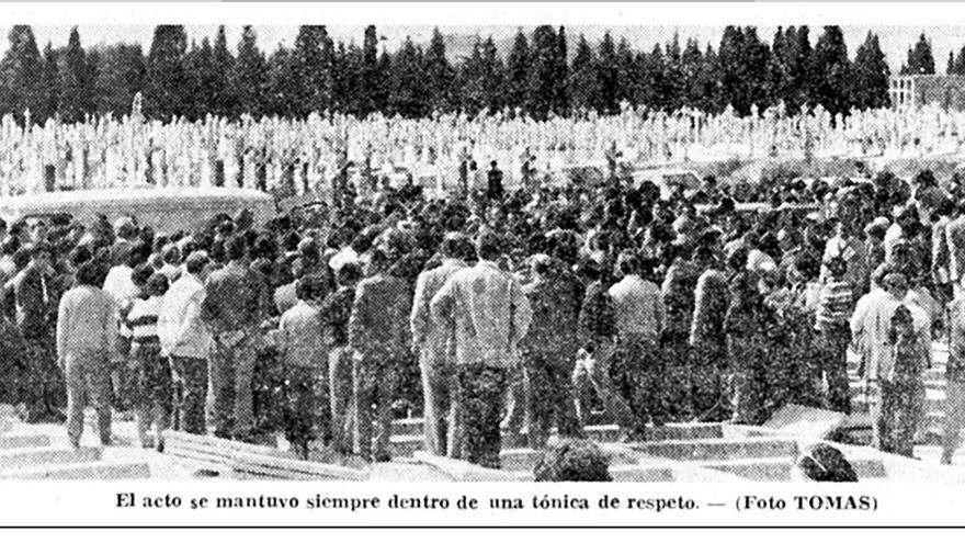 La Verdad 8-04-1979/ Archivo municipal Murcia