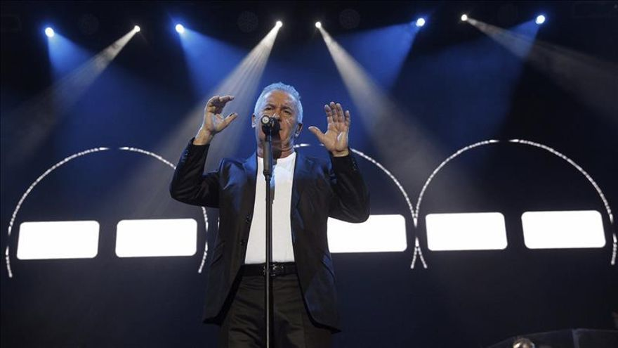 Gran pitada por el sonido en el arranque del concierto de Víctor Manuel en Madrid